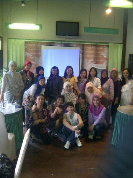 womenpreneur community talkshow bandung