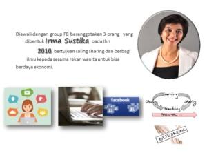 latar belakang womanpreneur community-irma sustika founder