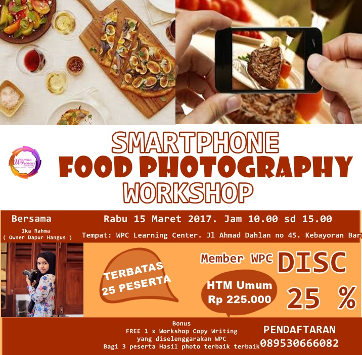 WPC FOOD FOTOGRAPHY WORKSHOP